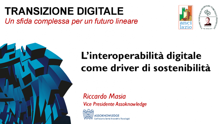 L'interoperabilità digitale come driver di sostenibilità